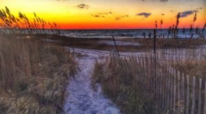 Eastham at sunset